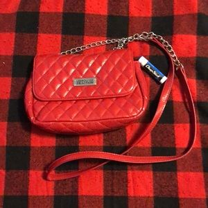 Red Kenneth Cole crossbody bag